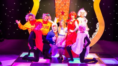 Brentwood Theatre | Past Christmas Shows | Through the Looking Glass
