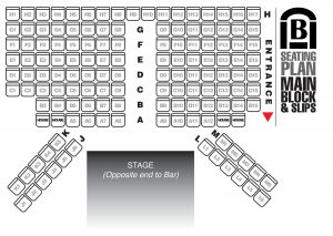 Seating Plan - 135 | Brentwood Theatre
