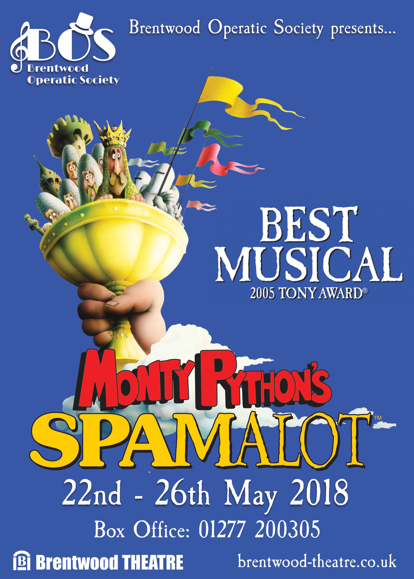 Spamalot | Brentwood Operatic Society | Brentwood Theatre 2018