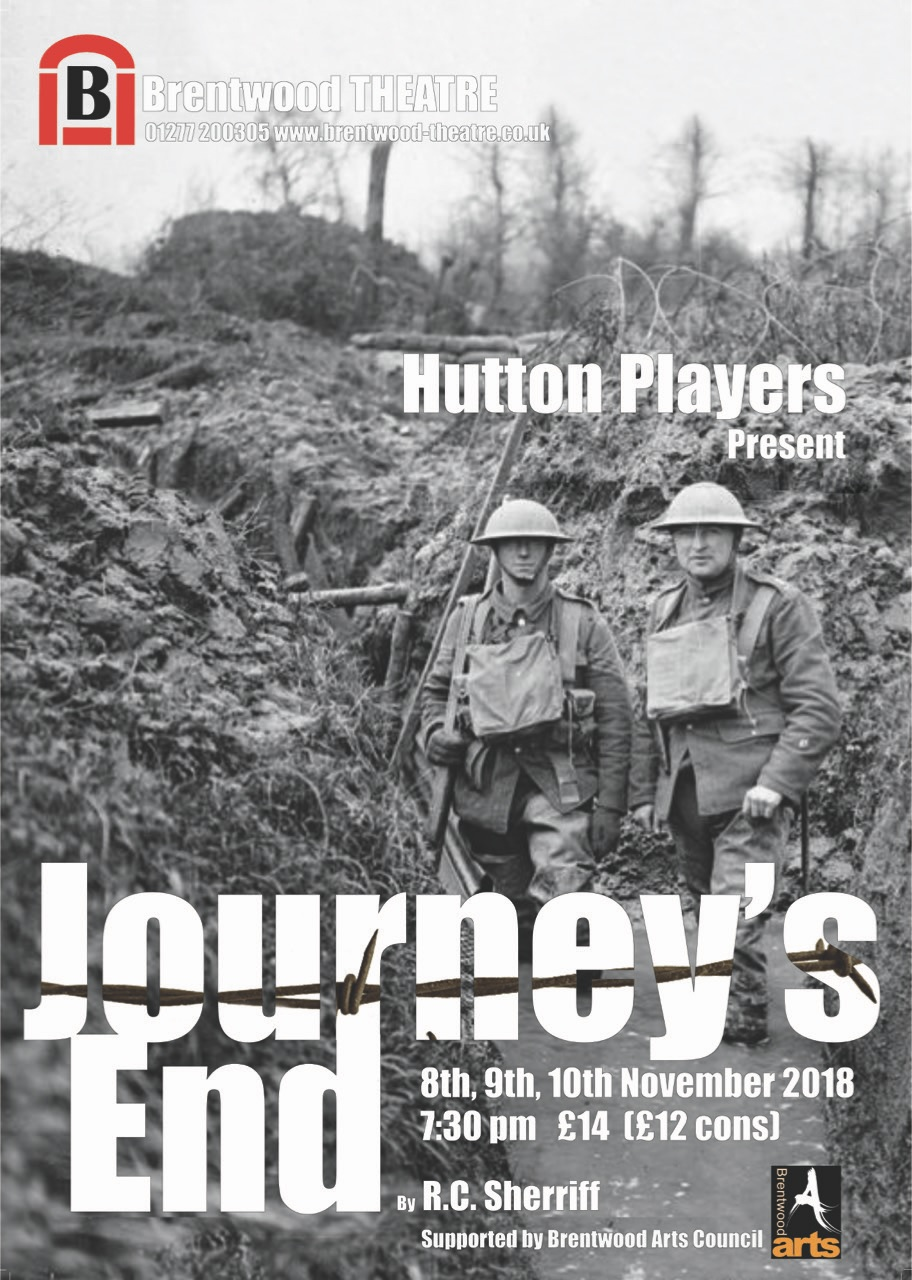 Journey's End | Hutton Players | Brentwood Theatre